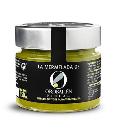 Mermelada. Jalea de AOVE Picual de Oro Bailén 150 Gr.