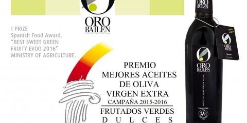 Premio Mejor Aceite de Oliva